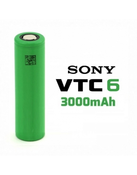 Bateria Sony 18650 VTC6 3000mah